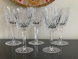 Vintage Waterford Lismore Pattern Claret Wine Glasses Set of 5 - $100.00