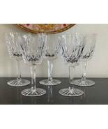 Vintage Waterford Lismore Pattern Claret Wine Glasses Set of 5 - $100.00