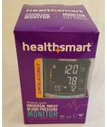 HealthSmart Digital Premium Wrist Blood Pressure Monitor w/audio - 2 use... - $48.89