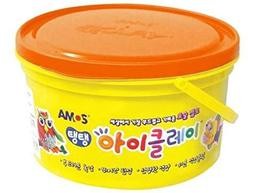 Amos i Clay Air Dried Modeling Dough Clay Toy Large Capacity Airtight Bulk Bucke