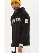 NEW NFL Pittsburgh Steelers men's size SMALL hoodie hood sweater sweatsh... - $34.55