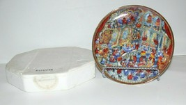 Franklin Mint HOLY CATS by Bill Bell Limited Edition Collector Plate ba - $15.99