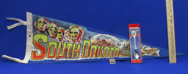 South Dakota Souvenir Collectible Spoon Pin/Tie Tac & Pennant  Lot of 3 - $16.82