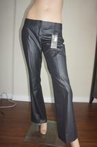 NWT Express Design Studio Stylist Black Pinstripe Ultra Low Dress Pants ... - $20.00