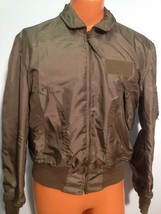 SUMMER AIR FORCE FLYERS COAT JACKET CWU-36/P LARGE  ITEM# B90 - $79.15