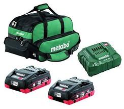 Metabo- 2X 4.0 Ah Lihd COMPACT Kit US625367002, Starter Kits - $399.52