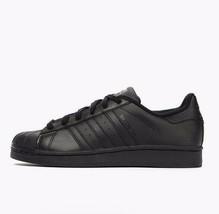 Adidas Superstar Foundation J B25724 Junior Black / Black Shoes - $62.95