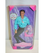 USA Olympic Skater Ken – New In Box – Mattel 18502 - $19.79