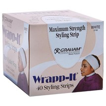 Graham Professional Beauty Wrapp-It White Styling Strips image 1