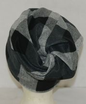 Howards Arianna Collection Buffalo Plaid Convertible Hat Adult Grays image 4
