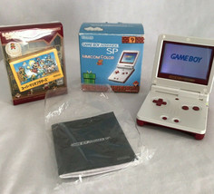 Nintendo Game Boy Advance Edición Especial con Super Mario Juego en Cole... - $199.49