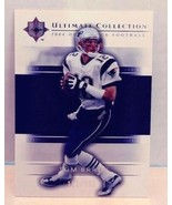 2004 Upper Deck Ultimate Collection Tom Brady 112/750 Football Trading Card - $34.99