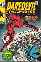 Daredevil Comic Book #75 Marvel Comics 1971 FINE+/VERY FINE- - $18.30