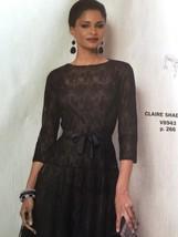 Vogue Sewing Pattern 8943 Ladies Misses Dress & Slip 8-16 Claire Shaeffers New - $21.22