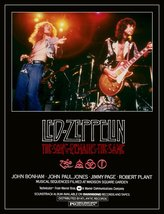 "Led Zeppelin ""The Song Remains The Same"" Stand-Up Movie Display  - Rober... - $15.99"