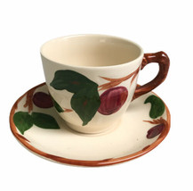 Franciscan Apple Pattern Cup & Saucer Set Dinnerware Made In England 2-3... - $9.47