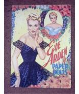 VINTAGE UNCUT 1953 EVE ARDEN PAPER DOLLS~#1 REPRODUCTION~ORIG SIZE~FABUL... - $17.99