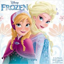 Walt Disney Frozen Movie Animation Art 16 Month 2018 Wall Calendar Style 2 NEW - $14.50