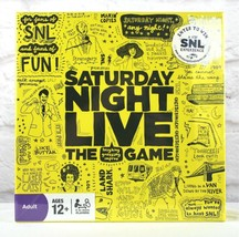 Saturday Night Live Trivia Board Game Family Night SNL TV Show Game 12 Up - $26.82
