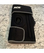 ACE Lateral Stabilization Knee Support Brace hook loop OSize black - $9.85