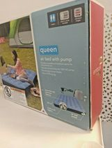 Embark Queen Air Bed Mattress w/ Electric Pump 8.5in-height Camping Inflatable image 7