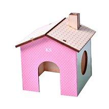 Panda Legends [B] Hamster Wooden Toy Hamsters DIY Habitat Pet Supplies f... - $11.67