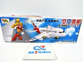 New Airplane Toy for Kids, Mario Brothers Action Airbus A380 Model Airpl... - $14.80