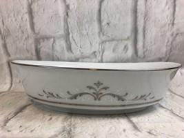 Noritake Vintage CAROLINA Oval Vegtable Serving Bowl 6671 Gift - $14.21