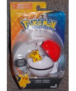 Pokemon Pikachu + Poke Ball Figure New In The Package - $27.99