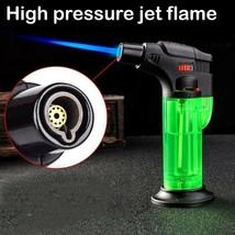 Butane Jet Torch Cigarette Windproof Lighter Fire Ignition Fuel Burner F... - $10.02