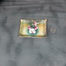 "Antique Rosenthal St. Cloud. Miniature Tray, 4 1/4"" x 3"", Possibly Tip T... - $11.29"