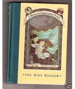 Lemony Snicket  THE WIDE WINDOW  Ex++ - $11.94