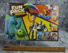 NEW DISNEY PIXAR FUN PACK CD ROM 3 GAME VALUE PACK FACTORY SEALED - $15.99