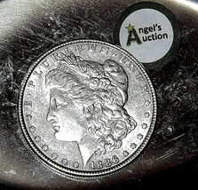 1886  Morgan Silver Dollar  AA19-CND6033