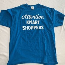 Attention K-Mart Shoppers T-Shirt Double Sided Bats Or Mustaches ? New XL - $11.88