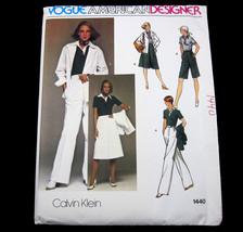 Vogue American Designer Calvin Klein Size 14 Vi... - $14.99
