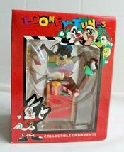 Christmas ornament 1996 Looney Tunes Tasmanian Devil Collectible TAZ Top... - $10.40