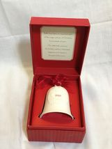 HALLMARK PORCELAIN DATED BELL 2007 - $12.50