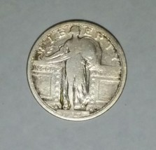 1917S Type I STANDING LIBERTY QUARTER COIN Lot # MZ 4734