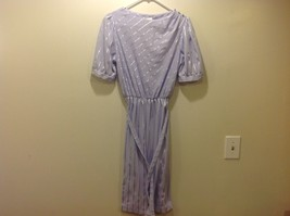 Oops California Lavender Dress w Matching Belt Sz 11-12