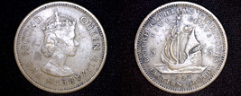 1964 East Caribbean States 5 Cent World Coin - $3.49