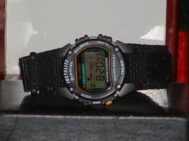 Pre-Owned Men's Armitron 40/6623 Black & Gray Instalite Digital Watch - $10.89