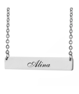 Custom Any Name Bar Necklace Christmas Mother Day Gift for Alina - $9.99+