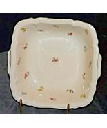 Square Serving Dish by Johann Haviland Barvaria AA20-2368A Vintage - $89.95