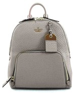 New Kate Spade New York Caden Carter Leather Backpack Soft Taupe - $149.00