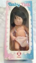 "Vintage 1983 Baby Nati Asian Baby Doll 9"" Furga Italy w/original Box - $25.00"