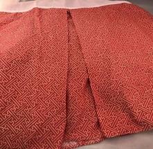 Ralph Lauren Villa Camelia Standard Bedskirt Paprika Fretwork - $38.69