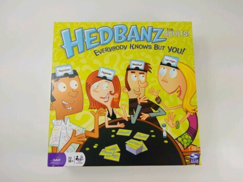 Primary image for Spin Master HEDBANZ for adults 2-6 Players Ages14+