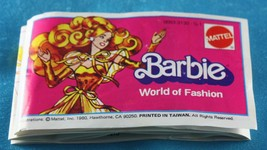 BARBIE DOLL ACCESSORIES 1980 BARBIE WORLD OF FASHION BOOKLET - $29.99