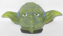 Star Wars Yoda Head Large Metal 3-D Colored Belt Buckle - $21.20